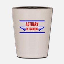 Actuary In Training Shot Glass
