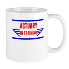 Actuary In Training Mugs