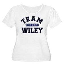 Team Wiley The Mentalist Plus Size T-Shirt