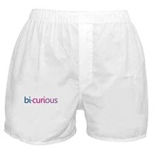 Bi-Curious Boxer Shorts