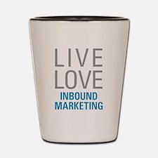 Inbound Marketing Shot Glass