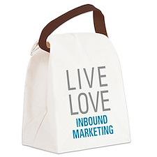 Inbound Marketing Canvas Lunch Bag