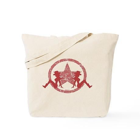 Mud Flap Cowgirls 4 Tote Bag