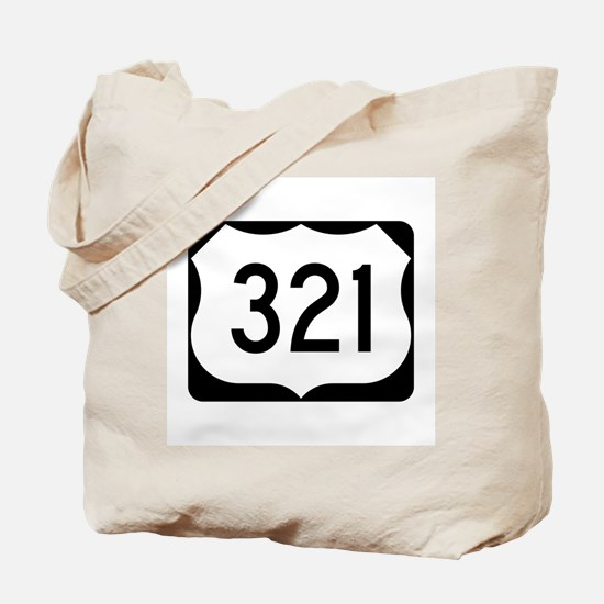 US Route 321 Tote Bag