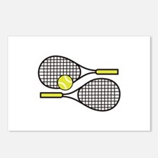 TENNIS RACQUETS Postcards (Package of 8)