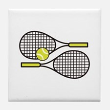 TENNIS RACQUETS Tile Coaster