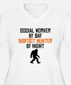 Social Worker By Day Bigfoot Hunter By Night Plus