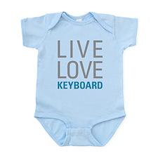 Live Love Keyboard Body Suit