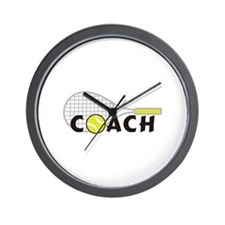 TENNIS COACH Wall Clock