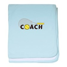 TENNIS COACH baby blanket