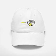 TENNIS RACQUET & BALL Baseball Hat