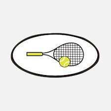 TENNIS RACQUET & BALL Patch