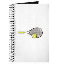 TENNIS RACQUET & BALL Journal