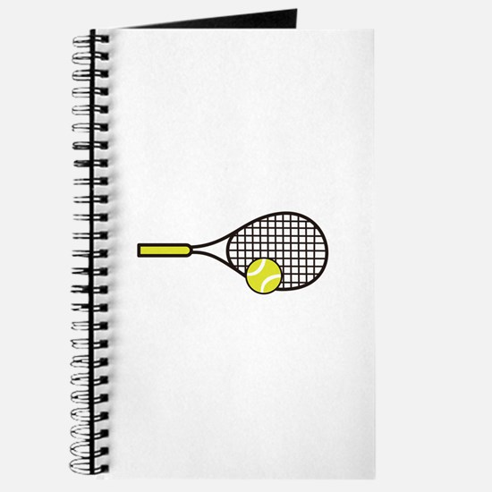TENNIS RACQUET & BALL Journal