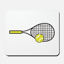 TENNIS RACQUET & BALL Mousepad