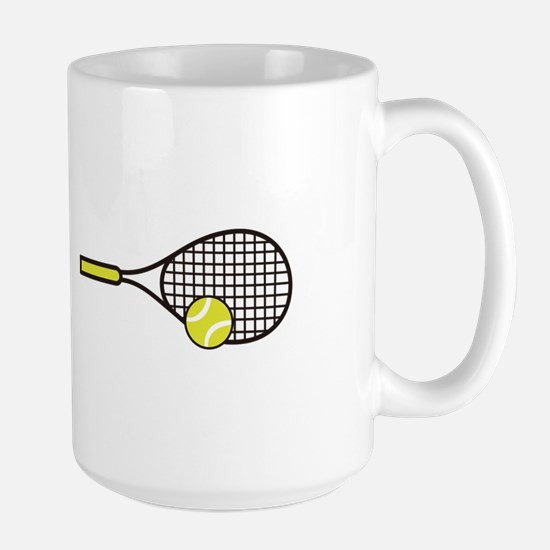 TENNIS RACQUET & BALL Mugs