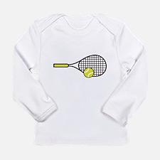 TENNIS RACQUET & BALL Long Sleeve T-Shirt