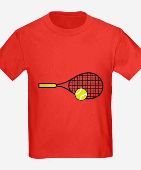TENNIS RACQUET & BALL T-Shirt