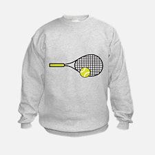 TENNIS RACQUET & BALL Sweatshirt