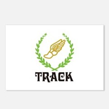TRACK CREST Postcards (Package of 8)