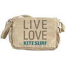 Live Love Kitesurf Messenger Bag