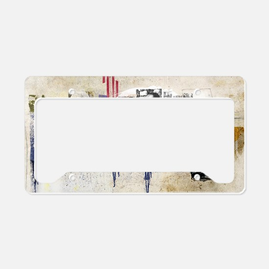 America in the 20th Century C License Plate Holder