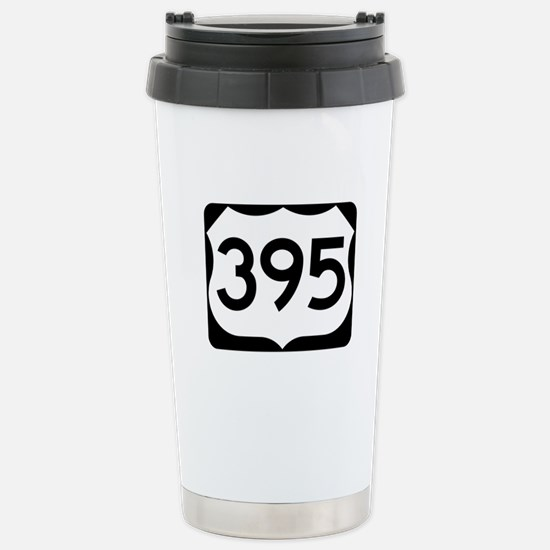 US Route 395 Stainless Steel Travel Mug