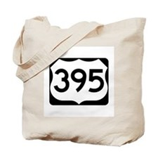 US Route 395 Tote Bag