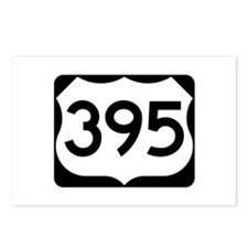 US Route 395 Postcards (Package of 8)