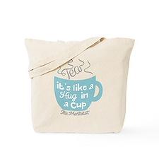 Tea Hug In A Cup The Mentalist Tote Bag