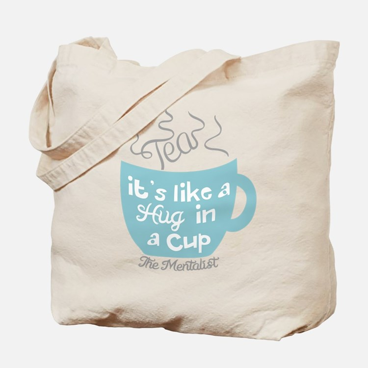 Tea Hug In A Cup The Mentalist Tote Bag