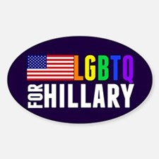LGBTQ Hillary Decal