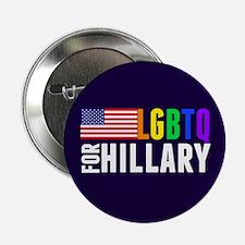 "LGBTQ Hillary 2.25"" Button"