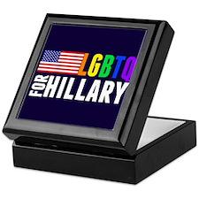 LGBTQ Hillary Keepsake Box