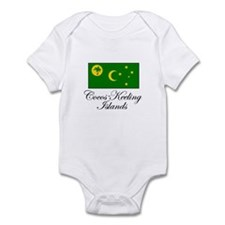 Cocos - Keeling Islands - Fla Infant Bodysuit