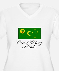 Cocos - Keeling Islands - Fla T-Shirt