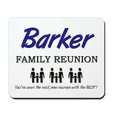 Barker Family Reunion Mousepad