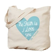 Mentalist The Truth Is I Love You Tote Bag