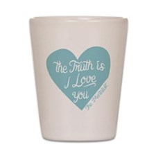 Mentalist The Truth Is I Love You Shot Glass