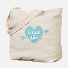 Lisbon Jane The Mentalist Tote Bag