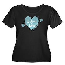 Lisbon Jane The Mentalist Plus Size T-Shirt