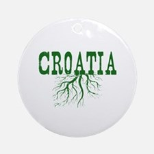 Croatia Roots Ornament (Round)