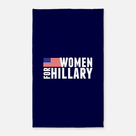 Women Hillary Blue Area Rug