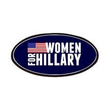 Women Hillary Blue Patch