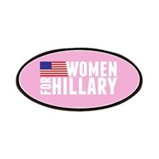 Hillary Pink Women Patch