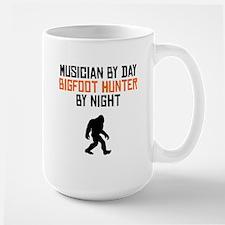 Musician By Day Bigfoot Hunter By Night Mugs
