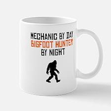 Mechanic By Day Bigfoot Hunter By Night Mugs