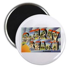 "Delray Beach Florida 2.25"" Magnet (10 pack)"
