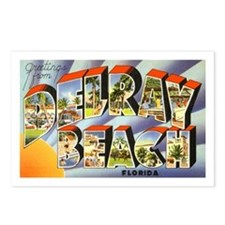 Delray Beach Florida Postcards (Package of 8)