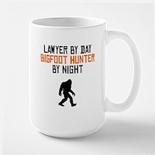 Lawyer By Day Bigfoot Hunter By Night Mugs